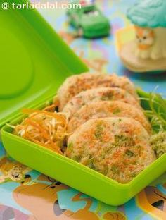 Mini caribbean pancakes, whip up some caribbean colour in kiddie tiffins. Tastes yummy with tomato ketchup or green chutney, pack these ready-in-a-jiffy, easy-to-eat pancakes for school outings.