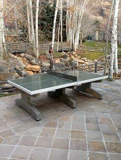 Outdoor Table Tennis  Bravado Outdoor Products  Roseburg, OR