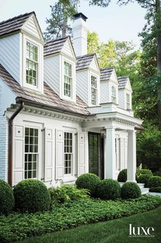 New England Homes, New Homes, Life Is Beautiful, Beautiful Homes, Up House, Architecture Details, Exterior Design, Exterior Homes, Curb Appeal