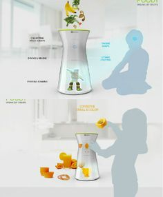FOODY- A food waste recycler and printer that involves kids in the cooking process and gives them tools for creativity and imagination. Vote and Win a trip to Helsinki 2015 #ElectroluxDesignLab #Competition| #Yankodesign