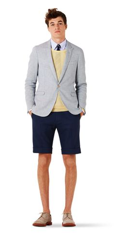 East Coast Prep re-envisioned by Gant. Nice layering.