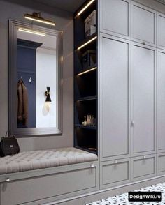 23 Ideas For Mudroom Closet Ideas Foyers Wardrobe Door Designs, Wardrobe Design Bedroom, Wardrobe Doors, Closet Designs, Closet Bedroom, Hallway Furniture, Home Decor Furniture, Furniture Design, Armoire Entree
