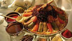 platos tipicos de Marruecos - cuscús