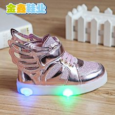 Cheap light frisbee, Buy Quality light pink hair tips directly from China light gold wedding shoes Suppliers: 2016 New Children Shoes Fashion Wings Boys Girls Sneaker Luminous spring autumn Kids Led Lighting Child Casual Shoes unisex Girls Sneakers, Girls Shoes, Sneakers Fashion, Fashion Shoes, Fashion Dolls, Fashion Accessories, Kids Boy, Kids Clothes Sale, Wing Shoes