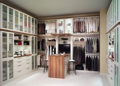 Since 1983, Closet Factory has defined the art of organization by designing and installing the only truly customized closet and storage solutions in the industry. Description from houzz.com. I searched for this on bing.com/images