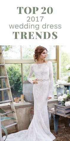 2017 Wedding Dress Trends: The Top 20 To Fall For | The Wedding Shoppe | Celebrating 40 Years in the Wedding Industry