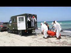 Nine hours battling death at sea off the Libyan coast