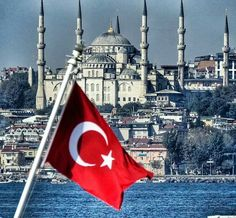 Fotoğraf Istanbul City, Istanbul Turkey, Turkey Flag, Turkey Country, Turkish Airlines, Grunge Photography, Turkey Travel, Ottoman Empire, Taj Mahal