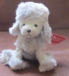 "5"" RUSS BERRIE Luv Pets FRENCHIE Poodle  PUPPY Dog w/ Tag 3 #Russ"