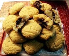 Greek Cookies, Yummy Cookies, Greek Desserts, Greek Recipes, Sweet Cooking, Cooking Recipes, Healthy Recipes, Nutella, Food To Make