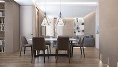 Кухня и столовая в стиле Современный - фото дизайна интерьеров на InMyRoom.ru
