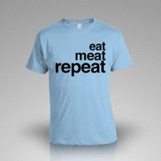 Blue Meat Week Shirt