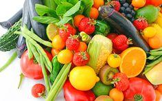 Wallpaper vegetables, ягоды, berries, фрукты, овощи, fresh, fruits