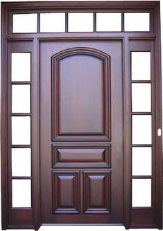 This teal front doors is a really inspirational and outstanding idea Home Door Design, Door Gate Design, Door Design Interior, Window Design, Wooden Front Door Design, Double Door Design, Wood Front Doors, Entry Doors, Modern Wooden Doors