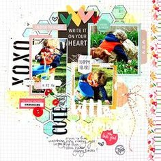 Scrapbook.com Layout Starred Projects