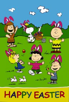 Peanuts Gang Easter happy summer images - My Pho Bag Charlie Brown Easter, Charlie Brown Und Snoopy, Peanuts Cartoon, Peanuts Snoopy, Snoopy Cartoon, Snoopy Love, Snoopy And Woodstock, Happy Summer Images, Ostern Wallpaper