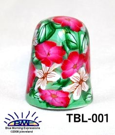 Etsy Transaction - Handcrafted Polymer Clay Collectible China Thimble 001