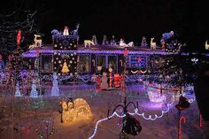 Photo: Fernando DiPanfilo/flickr | thisoldhouse.com | from World's Wildest Holiday House Displays