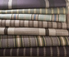 Hartley & Tissier Stripes Collection of Flatweave stair runners & carpets