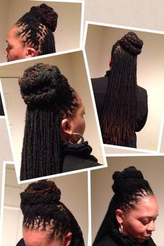 Beautiful #Loc style by Naturaleemee