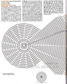 модель скатерти 0014 - схема