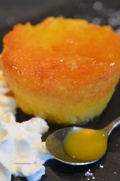 Orange fondant like a baba - Trend Christmas Cake 2019 French Desserts, No Cook Desserts, Mini Desserts, Dessert Recipes, French Crepes, French Pastries, Orange Recipes, Sweet Recipes, Pastry Recipes