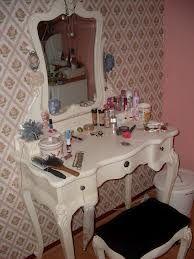 Witte Barok Kaptafel.Mooie Kaptafel Make Up En Nagels Vanity Mirror En Hair Beauty