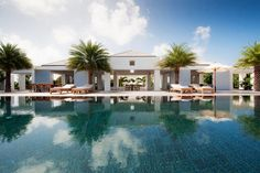 LUXURU RESORT | Villa Olive in St Barts Blue is true paradise | bocadolobo.com | #luxuryhotels #besthotels