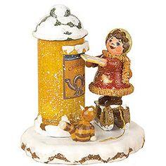 Winterkinder Christkindelpost (7cm) von Hubrig Volkskunst