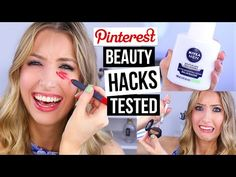Pinterest Hacks TESTED #11 || Beauty Dupes Edition! - YouTube