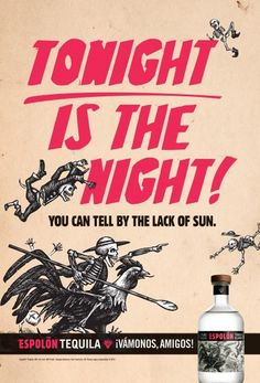 Espolon Tequila Print Ads illustrated by Steven Noble by Steven Noble, via Behance