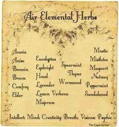 Air Elemental Herbs