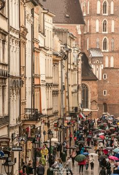 Florian Street, Krakow, Poland, by Przemek Czaja. St Florian, Krakow Poland, Central Europe, Travel Europe, Monuments, Old Town, Travel Ideas, Russia, Street View