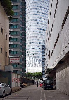 L'Avenue in Shanghai: Ein Haus wie ein Wasserfall | KlonBlog