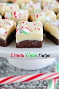 Candy Cane Fudge 16oz semi sweet chocolate chips 1 can sweetened condensed milk (14 oz) 12oz white chocolate chips 1/2 teaspoon peppermint extract 1/2 can sweetened condensed milk (7oz) 3 candy canes (chopped)