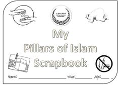 Pillars of Islam Scrapbook/Lapbook Elements ~ TJ Homeschooling Learning Arabic, Early Learning, Fun Learning, Ramadan Activities, Classroom Activities, Ramadan Crafts, Anniversary Quotes For Husband, Islamic Celebrations, Pillars Of Islam