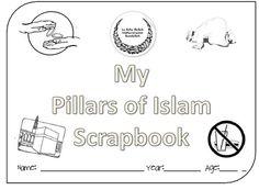 Stunningly good Pillars of Islam lap book! Just wow!