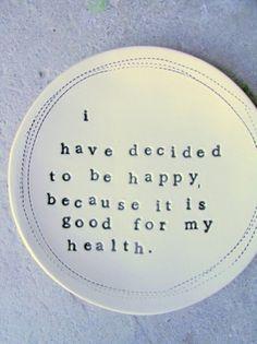 My health... my choice.
