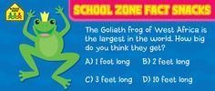 Getting this one right might be a long shot. Check our Facebook tomorrow for the answer.  http://www.facebook.com/SchoolZonePublishing   #funtrivia #Trivia #Learning #games #Kids #kidsactivities #Education #HomeSchool
