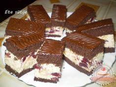 Ajánld ismerőseidnek! ... Cake Bars, Tiramisu, Bakery, Cooking Recipes, Sweets, Ethnic Recipes, Food, Xmas, Kuchen