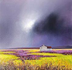 Artodyssey: Barry Hilton I've never seen an artist capture the sky like this.