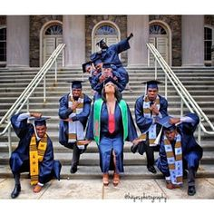 The past year of police brutality, murders, marches, and riots have left many of us feeling numb. Here's an extra helping of black excellence from the class of 2015 to help you feel again. Black Girls Rock, Black Girl Magic, Black Men, Black Gold, Graduation Pictures, Best Friend Goals, Squad Goals, Black Is Beautiful, Beautiful People