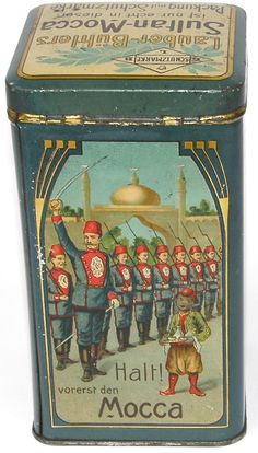 Vintage Dutch coffee tin