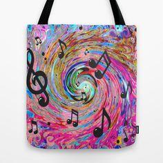 Musical Tote Bag