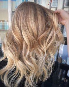35 Balayage Haare Blond - blonds have more . F U N 35 Balayage Haare Blond - blonds have more . Brown Blonde Hair, Dark Hair, Medium Blonde, Dyed Blonde Hair, Golden Blonde, Spring Hairstyles, Everyday Hairstyles, Diy Hairstyles, Curly Hair Styles
