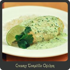 Creamy Tomatillo Chicken