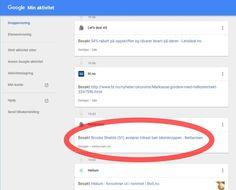 AVSLØRENDE: Det er ikke sikkert du er like stolt over alt som ligger lagret i surfehistorikken din hos Google. Heldigvis kan du gjøre noe med det. Skjermdump: Dinside
