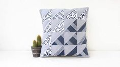 Patchwork cushion cover modern quilting patchwork pillow