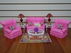 Gloria My Fancy Life Living Room Playset - This is one of the Gloria sets that I don't have.