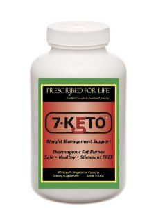 7-KETO® Natural Weight Loss Anti-Aging Immune System Supplement - 60 Veggie Caps by Prescribed For Life. $39.95. Anti-Aging Properties. No Stimulants, Caffeine or Wheat Flour. 7-KETO® Natural Weight Loss Supplement. Immune System Support. Hormone Balancing Supplement. 7-KETO® is an all natural supplement from plant sources and is a safe alternative to DHEA, which is naturally produced in all adult humans. Those sensitive to DHEA supplements will appreciate this pur...